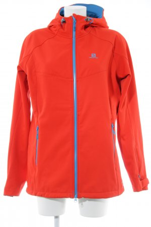 Salomon Softshelljacke hellrot Casual-Look