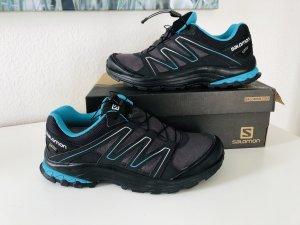 Salomon Sneaker stringata azzurro-antracite Tessuto misto