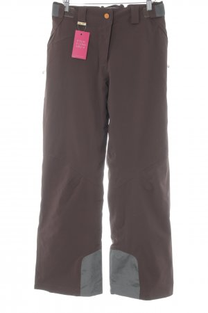 Salomon Pantalone termico marrone stile atletico