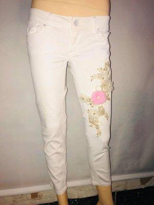 Salsa Jeans Jeans a 7/8 multicolore Cotone