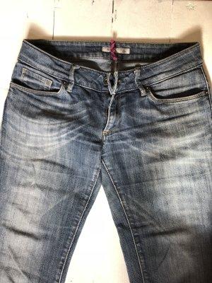 Salsa Jeans Jeans de moto bleu foncé