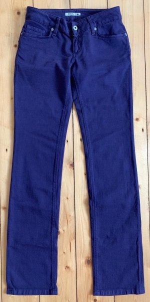 Salsa Jeans Jeans slim violet foncé coton
