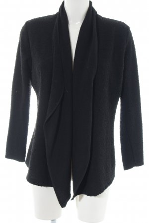 Salsa Strick Cardigan schwarz Casual-Look