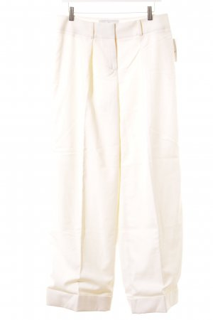 Salvatore ferragamo Bundfaltenhose creme Business-Look