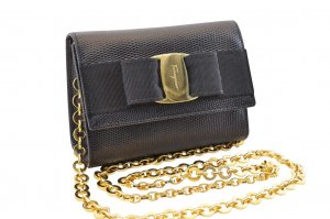 Salvatore Ferragamo Chain Shoulder Bag