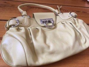 Salvatore Ferragamo Designer Luxus Handtasche Lemon Gelb