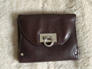Salvatore ferragamo Cartera marrón oscuro