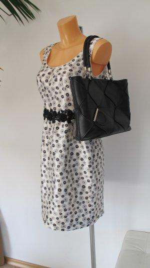 Salvatore ferragamo Carry Bag black-silver-colored leather