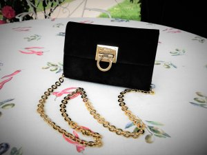 Salvatore ferragamo Mini Bag black-gold-colored leather