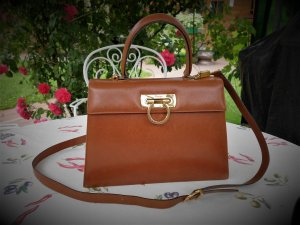 Salvatore ferragamo Carry Bag light brown leather