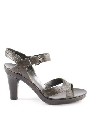 Salvatore ferragamo High Heel Sandaletten khaki Casual-Look