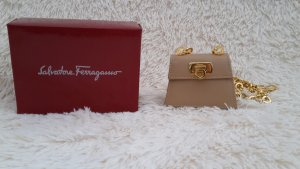 Salvatore ferragamo Sac bandoulière rose chair cuir