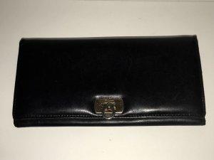 Salvatore ferragamo Wallet black-gold-colored leather