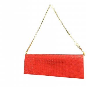 Salvatore Ferragamo Rhinestone Red Party
