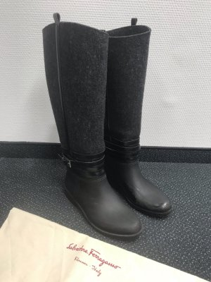 Salvatore Ferragamo Riding/Rain Boots