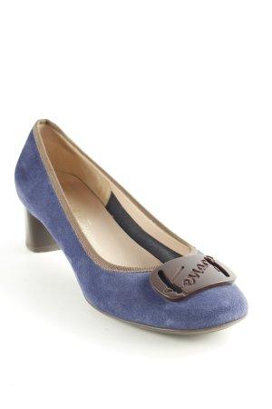 Salvatore ferragamo Slip-on Shoes dark blue-black brown classic style
