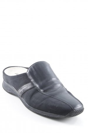 Salvatore ferragamo Slipper schwarz Casual-Look