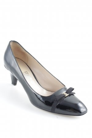 Salvatore ferragamo Trotteur schwarz Business-Look