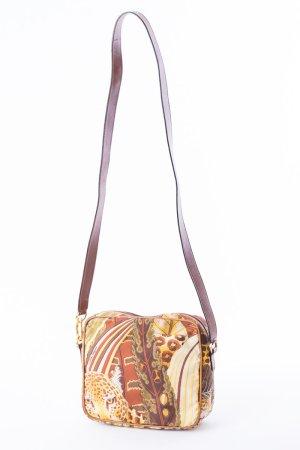 SALVATORE FERRAGAMO - Umhängetasche aus Textil Bunt gemustert