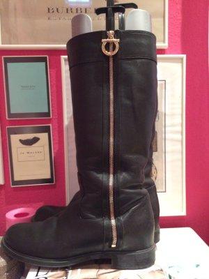 Salvatore ferragamo Winter Boots black leather