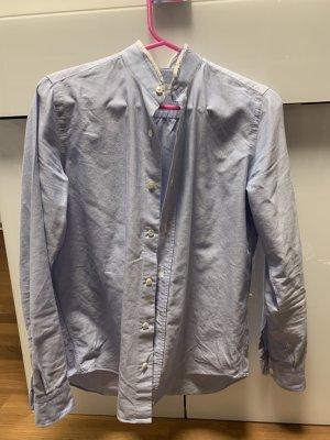 Camisa de manga larga azul celeste