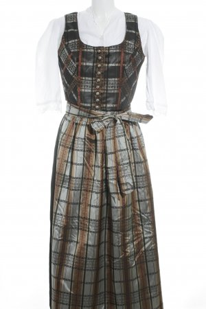 Salzburger Dirndl Dirndl abstraktes Muster Country-Look