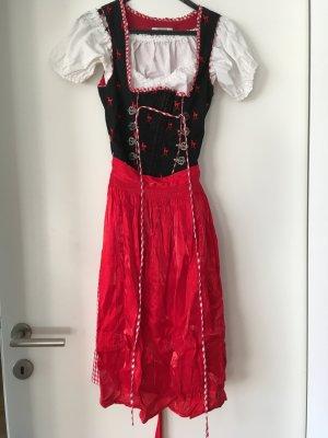 Salzburger Dirndl (schwarz/rot)