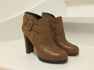 Sam Edelman Ankle Booties aus Velours- und Glattleder