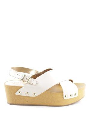 Sam edelman Clog Sandals nude-beige casual look