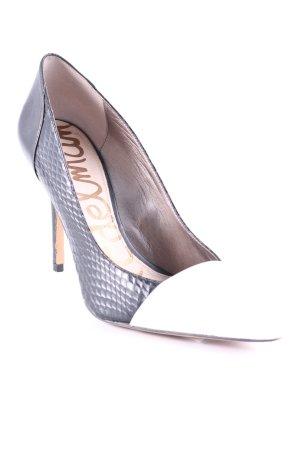 Sam edelman High Heels schwarz-creme Business-Look