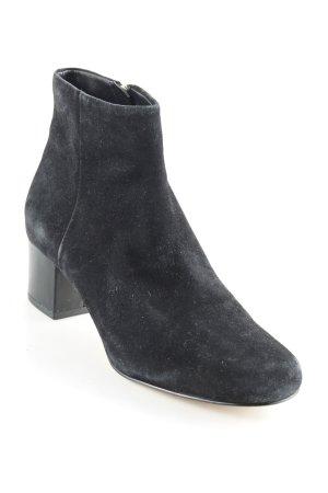 Sam edelman Reißverschluss-Stiefeletten schwarz minimalistischer Stil