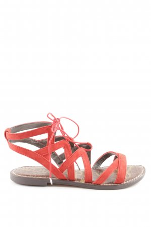 Sam edelman Roman Sandals red casual look