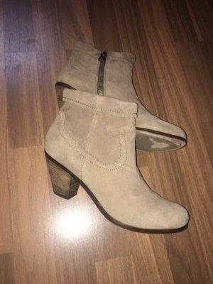 Sam edelman Western Booties beige leather