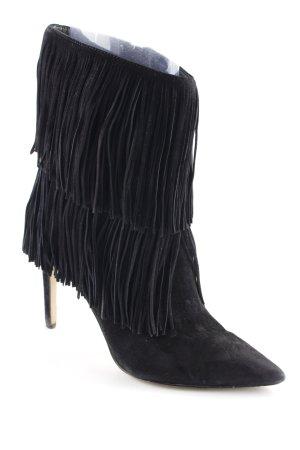 Sam edelman Western-Stiefeletten schwarz extravaganter Stil