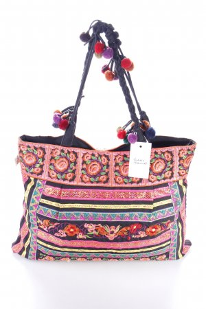 Sam Well Carry Bag flower pattern Aztec print