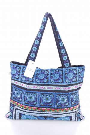 Sam Well Carry Bag flower pattern Aztec print