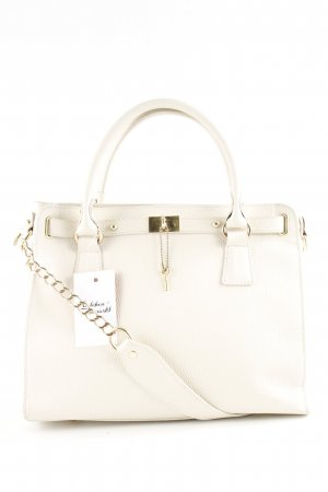 Samantha Look Sac Baril blanc style classique