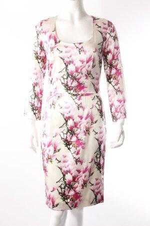 Samantha Sung Seidenkleid Blumenmuster