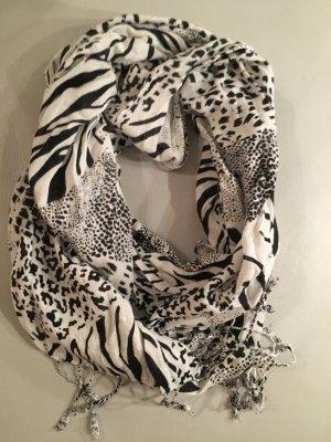 SAMAYA Schal mit Zebra Safari Print, NEU und ungetragen