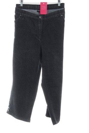 Samoon Jeans 3/4 taupe style décontracté