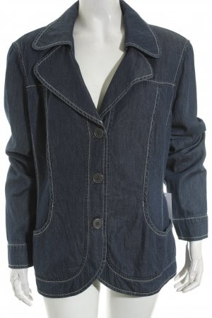Samoon by Gerry Weber Jeansblazer dunkelblau Casual-Look