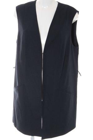 Samoon by Gerry Weber Long-Blazer dunkelblau Business-Look