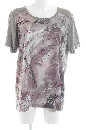 Samoon by Gerry Weber Camiseta estampado con diseño abstracto look casual