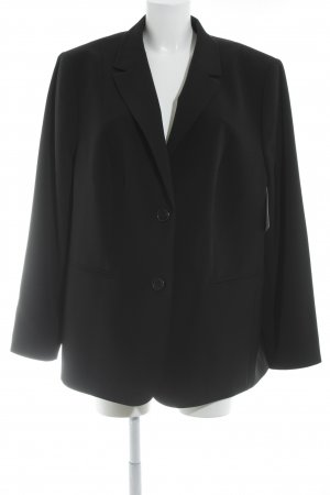 Samoon Smoking-Blazer schwarz Business-Look