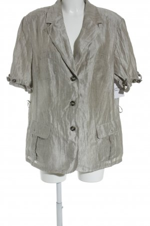 Samoon Sweatblazer hellbeige Casual-Look