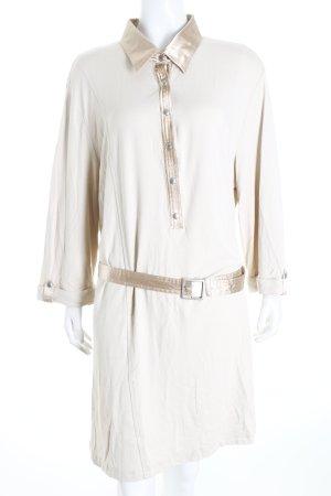 Samoon Sweatkleid hellbeige-beige Casual-Look