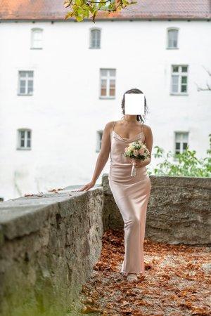 Samsoe Kleid mit Schal Vera Mont