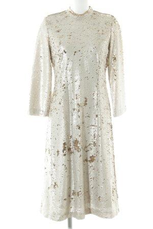 Samsøe & samsøe Abendkleid beige-goldfarben extravaganter Stil