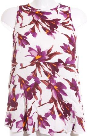 Samsøe & samsøe ärmellose Bluse florales Muster klassischer Stil