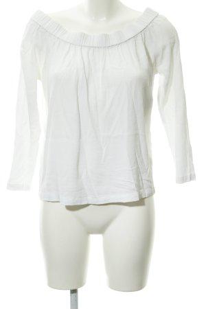 Samsøe & samsøe Camisa tipo Carmen blanco estilo sencillo